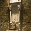 Traditional fountain in Rhodes, Greece - Stock Photo