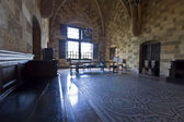 Palace of the Knights at Rhodes island, Greece — Stock Photo