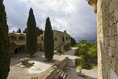 Filerimos monastery at Rhodes island in Greece — Stock Photo