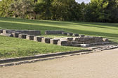 Ancient Olympia in Greece. The stadium — Stock Photo