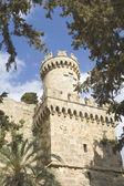 Burg der ritter auf rhodos, griechenland — Stockfoto