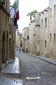 Medieval city of Rhodes island in Greece — Stock Photo