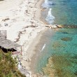 Stock Photo: Sunny beach at Halkidiki in Greece