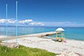 Kallithea summer resort in Greece — Stok fotoğraf