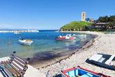 Nea fokea zomervakantieoord in chalkidiki, griekenland — Stockfoto