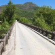 Stock Photo: Old road bridge at Europe in Greece