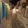 Stock Photo: Streets of Mykonos island in Greece