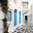 Stock Photo: Summer destination of Mykonos in Greece