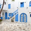 Stock Photo: Travel destination of Mykonos island in Greece