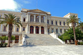 Images of Syros island in Greece — Stock Photo