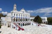 Kościół Panagia evangelistria tinos island, Grecja — Zdjęcie stockowe