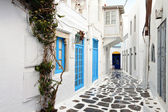Summer destination of Mykonos in Greece — Stock Photo