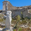 Ancient Delos in Greece - Stock Photo