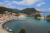 Parga summer resort in Greece — Stock Photo