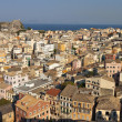 Corfu city in Greece — Stock Photo