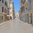 Stock Photo: Corfu city in Greece