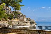 Isla de corfu en grecia — Foto de Stock