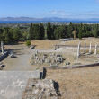 Ancient site of Asclepio at Kos island in Greece — Stock Photo #48493347