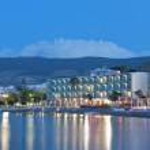 Night scenic views from Kos island in Greece — Stock Photo #48497667