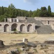 Ancient site of Asclepio at Kos island in Greece — Stock Photo #48498457