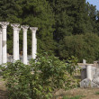 Ancient site of Asclepio at Kos island in Greece — Stock Photo #48498979
