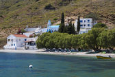 Scenic views from Kalymnos island in Greece — Zdjęcie stockowe