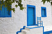Traditional house from Greece — Foto de Stock