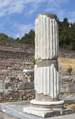 Ancient Asclepio at Kos island in Greece — Stock Photo