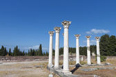 Asclepio ancient site at Kos island in Greece — Stock Photo