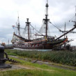 Dutch historic ship — Stock Video