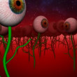 Eye planet - Stock Photo