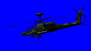 Apache helicopter — Stock Video