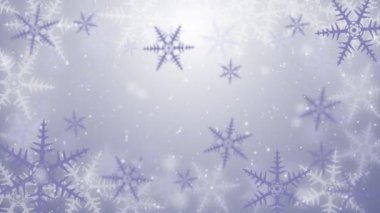 Snow crystal background — Stock Video