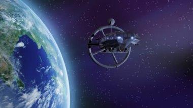 Spaceship — Stock Video