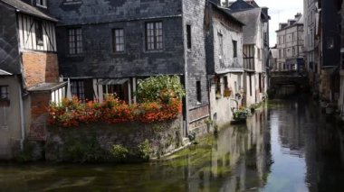 复古街头杜邦 audemer 在法国 — 图库视频影像