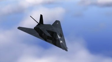 Stealth F-117 — Stock Video