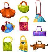 Bags set — Stock Vector