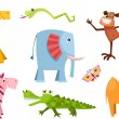 Animals — Vector de stock #31469837