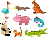 Animals set — Stock Vector
