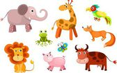 Animals set — Stock Vector