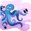 Octopus — Stock Vector