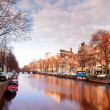 Amsterdam canal — Stock Photo #12789441