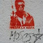 Постер, плакат: Schwarzenegger stencil