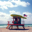 Stock Photo: Lifeguard Station