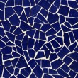 Blue mosaic - Foto Stock
