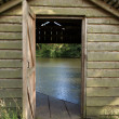 Boat house - Stock Photo
