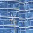 Window crane - Stock Photo