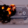 Royalty-Free Stock Photo: Burning cassette