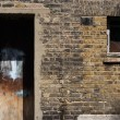 Stock Photo: Burnt building