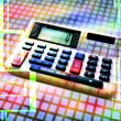 Electronic calculator — Stock Photo #12789970